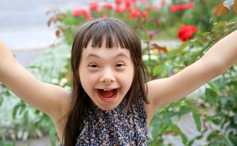 girl with special needs in Chesterfield
